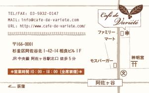 map variete
